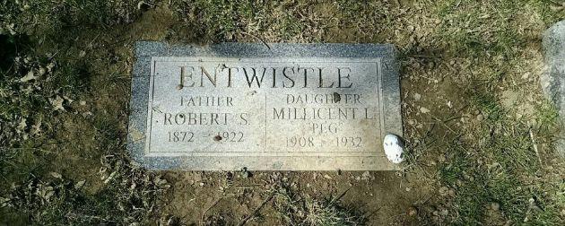 tumba de Peg Entwistle