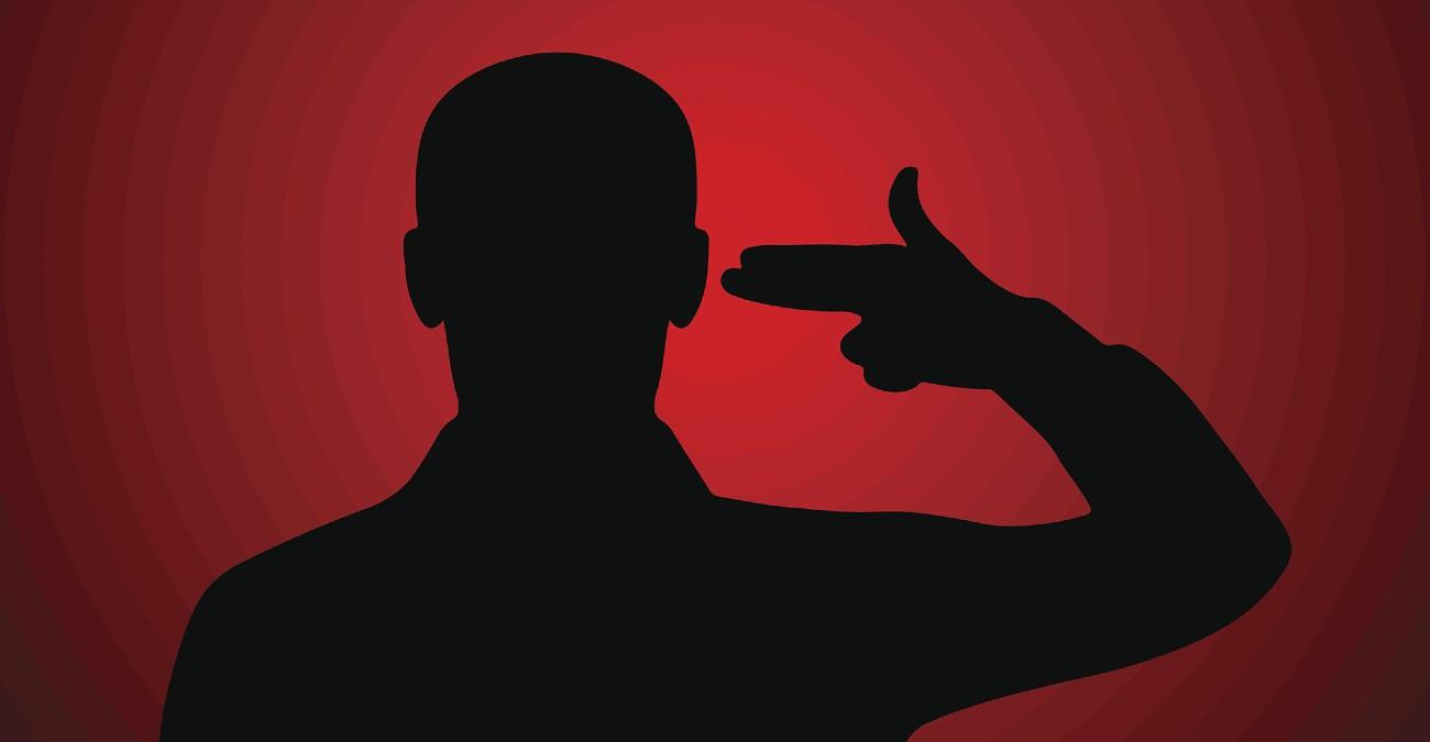 suicidarse sin dolor con un disparo en la cabeza